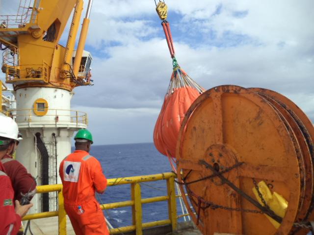 Teste de carga Offshore
