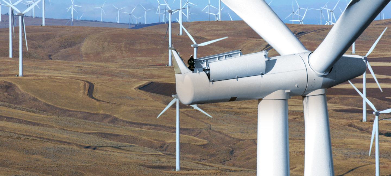 Inspeção de turbina